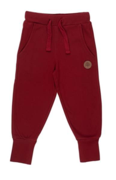 Bilde av Gullkorn Design Villvette bukse - dyp rød
