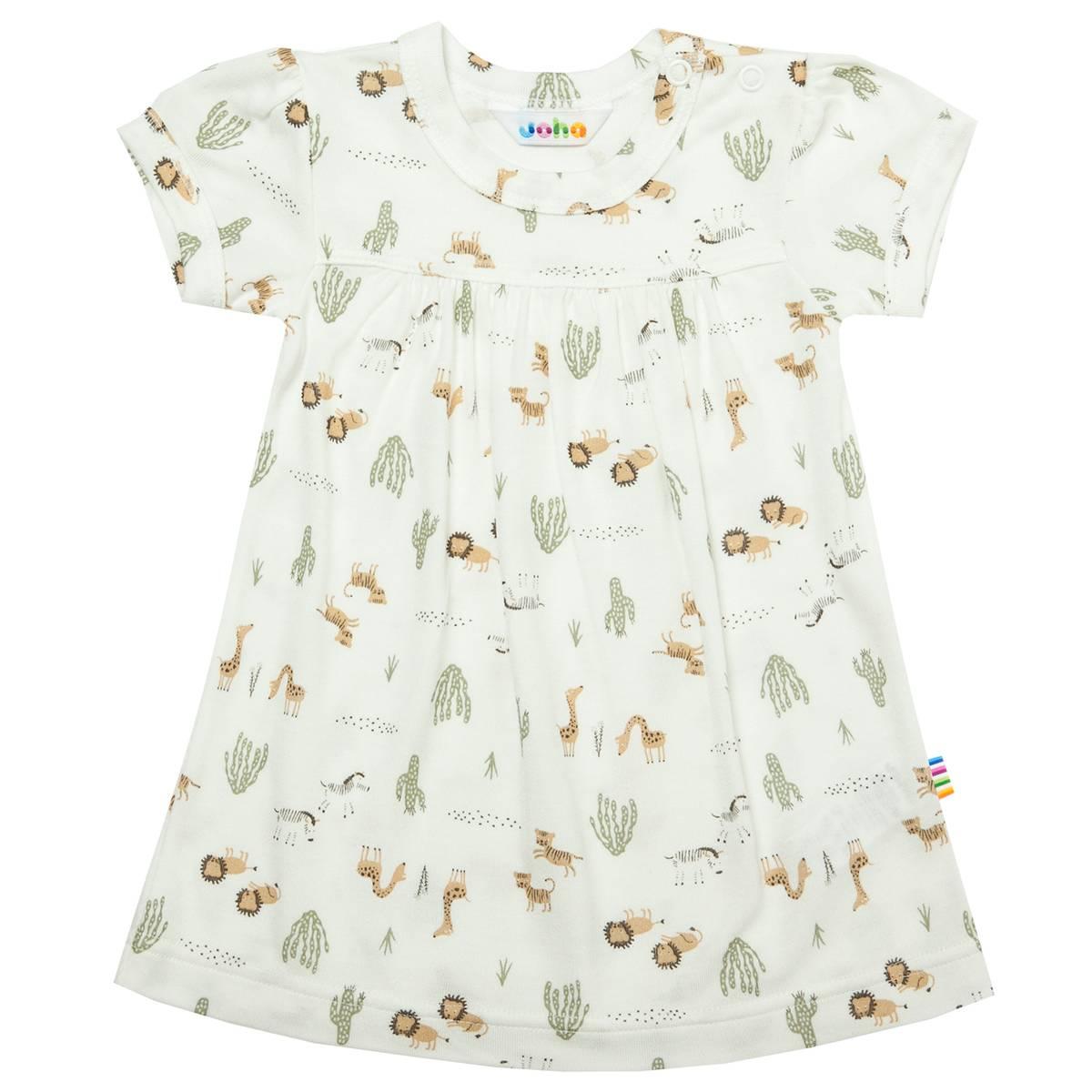 Joha Wild bambus kjole - hvit