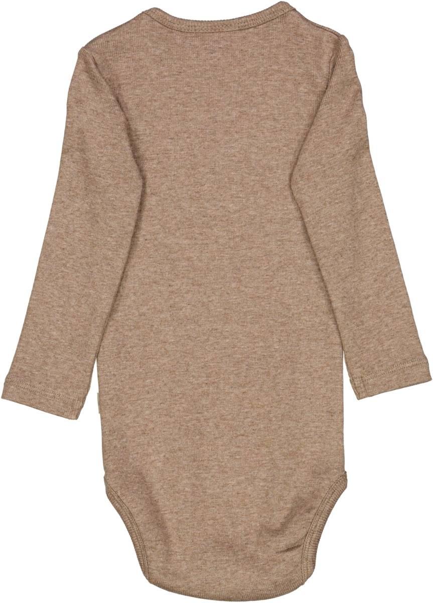 Wheat body plain - khaki melange