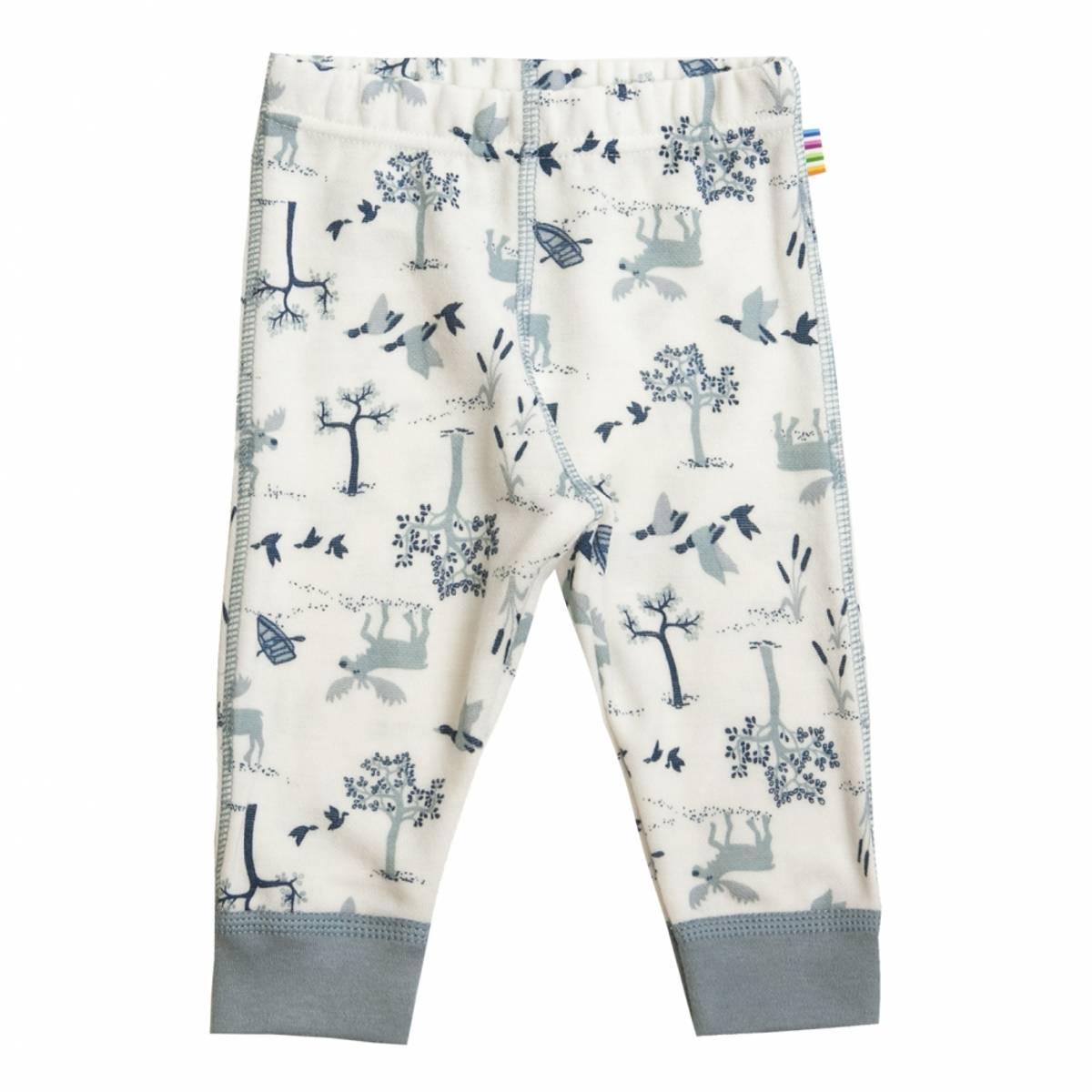 Joha Forest ull/bambus leggings - denim