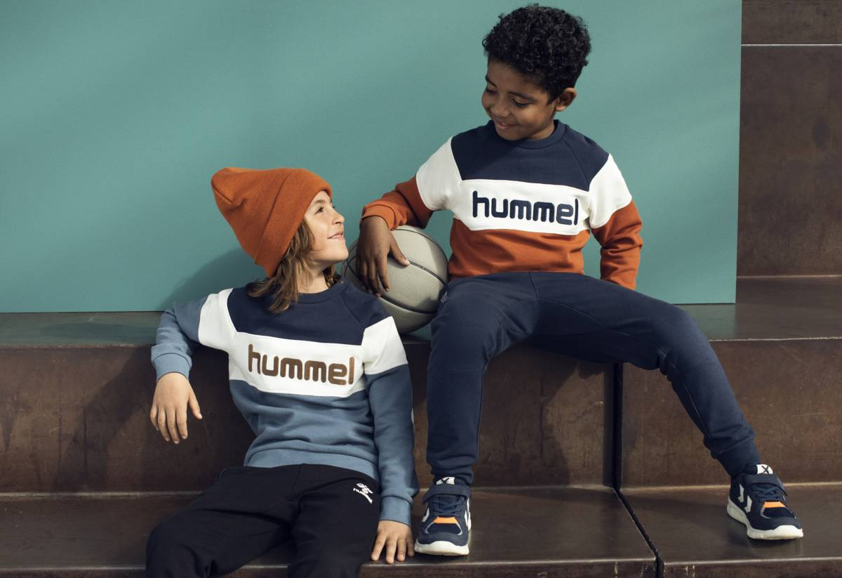 Hummel Claes genser - china blue