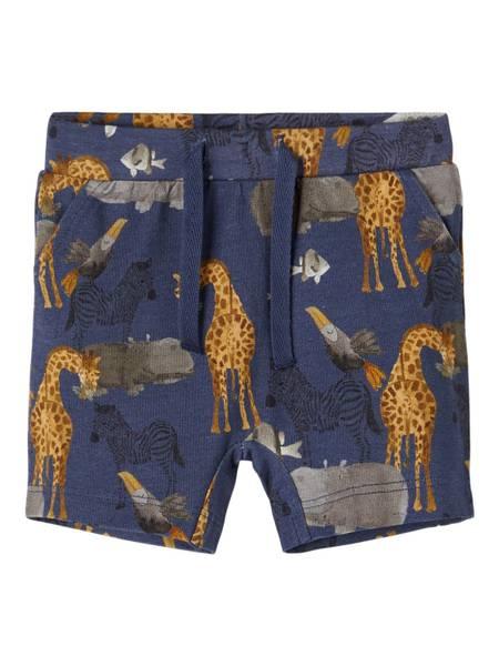Bilde av Name It Jelix baby shorts - vintage indigo